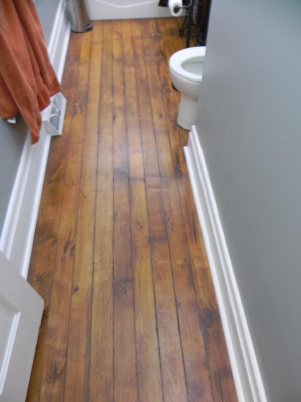 Hardwood In Bathroom Flooring Contractor Talk Cool Hardwood In Bathroom