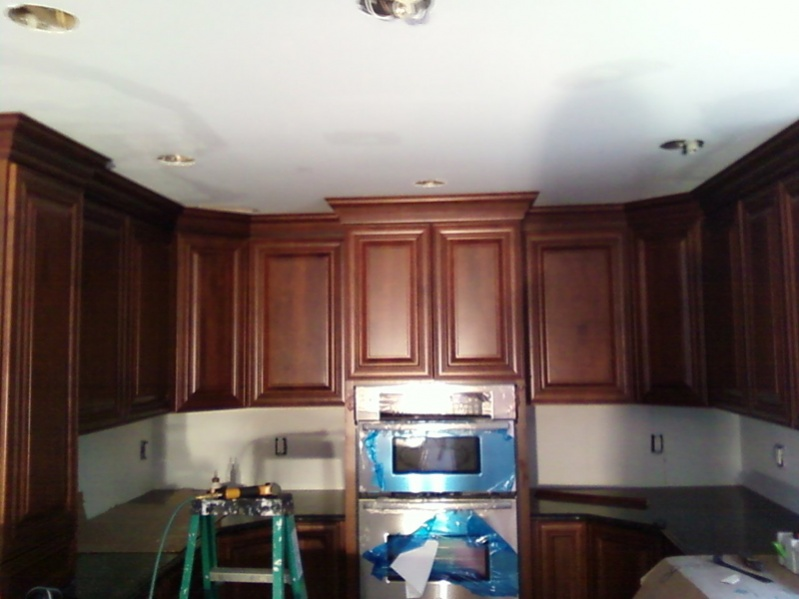 Kitchen Cabinet Crown - Finish Carpentry - Contractor Talk