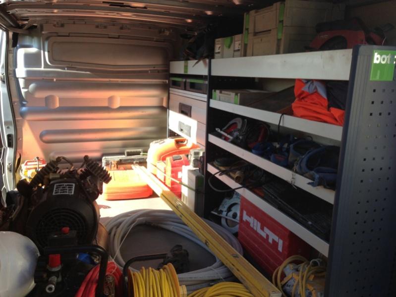 Work Van Shelves Vehicles Contractor Talk