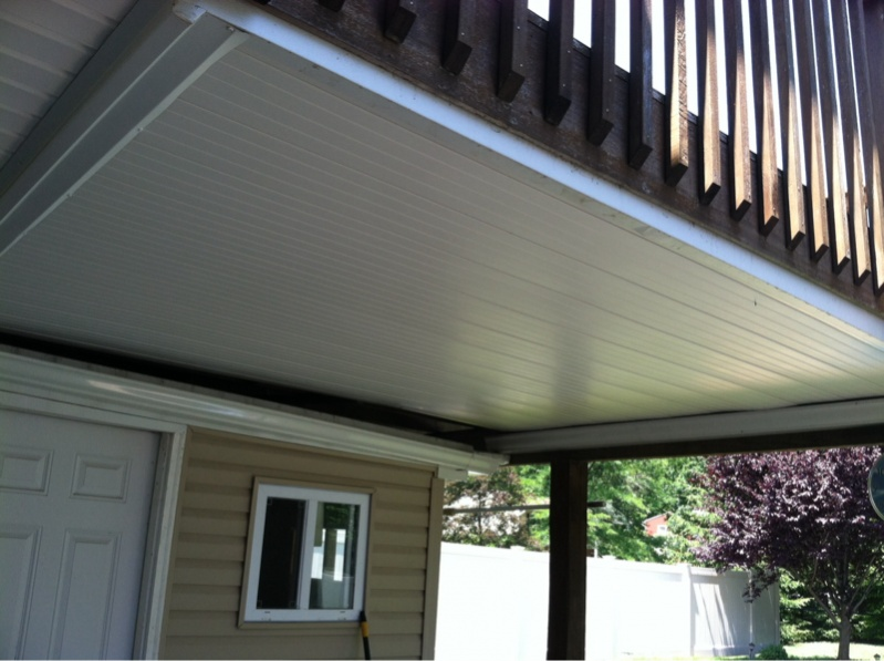 Under deck ceiling general discussion contractor talk for Balcony ceiling
