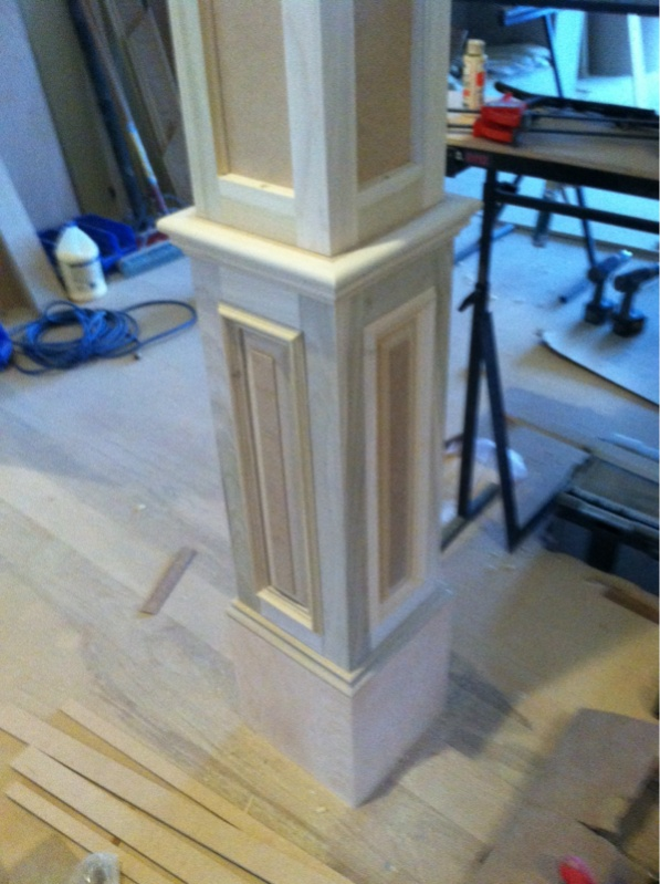Delicieux Wrapping Interior Columns Finish Carpentry Contractor Talk