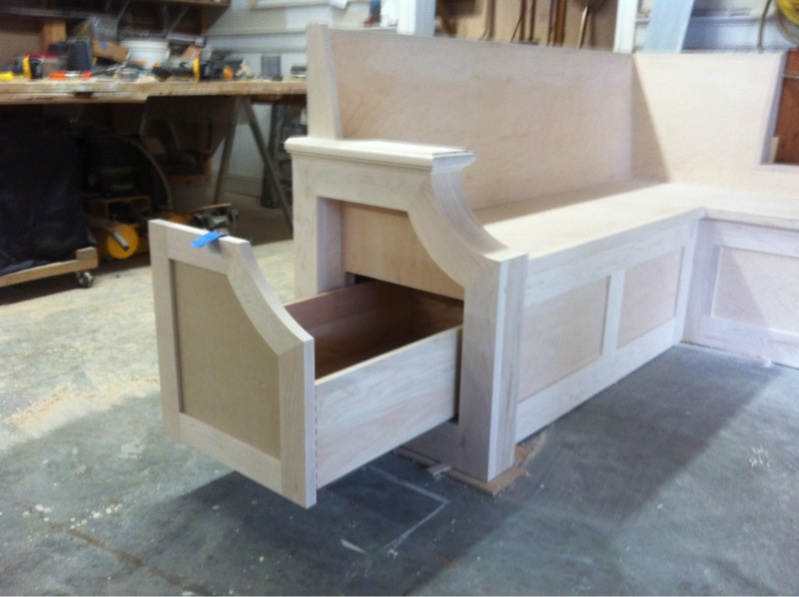 Kitchen Bench Seat - Finish Carpentry - Contractor Talk