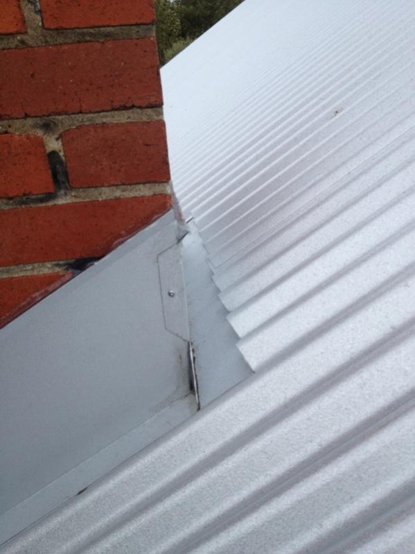 Metal Roof Diverter Roofing Contractor Talk