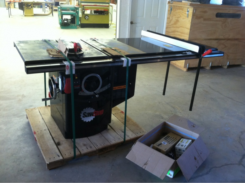 Setting Up Sawstop Outfeed/incra Router Fence & Setting Up Sawstop Outfeed/incra Router Fence - Finish Carpentry ...