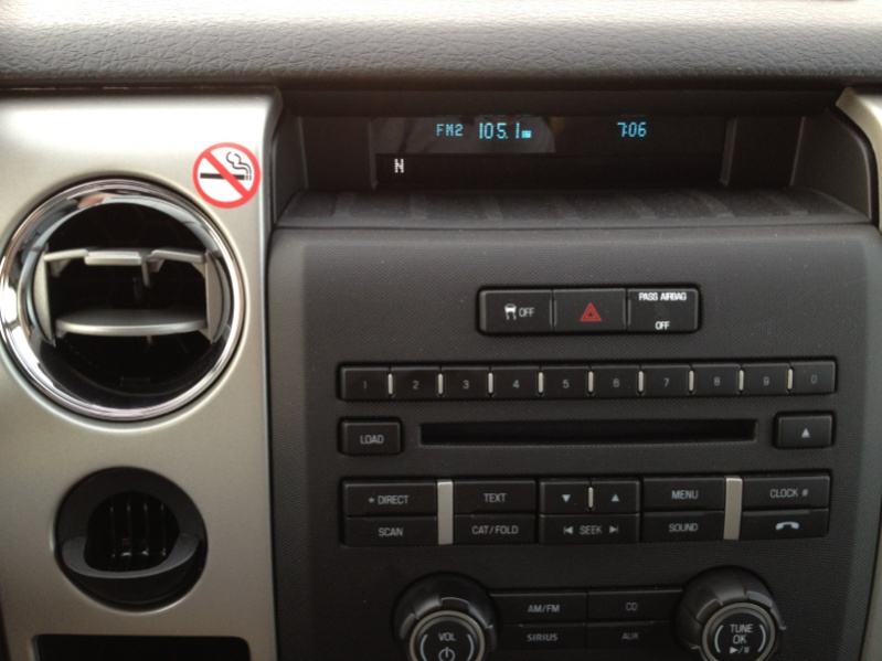 2012 Ford F 150 Dashboard Thing Vehicles Contractor Talk