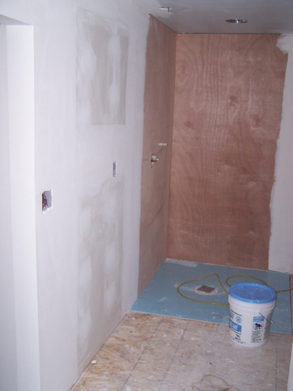 Shower Floor Pan For Tile Images Contemporary Bathroom