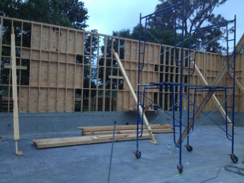 massive garage framing contractor talk. Black Bedroom Furniture Sets. Home Design Ideas