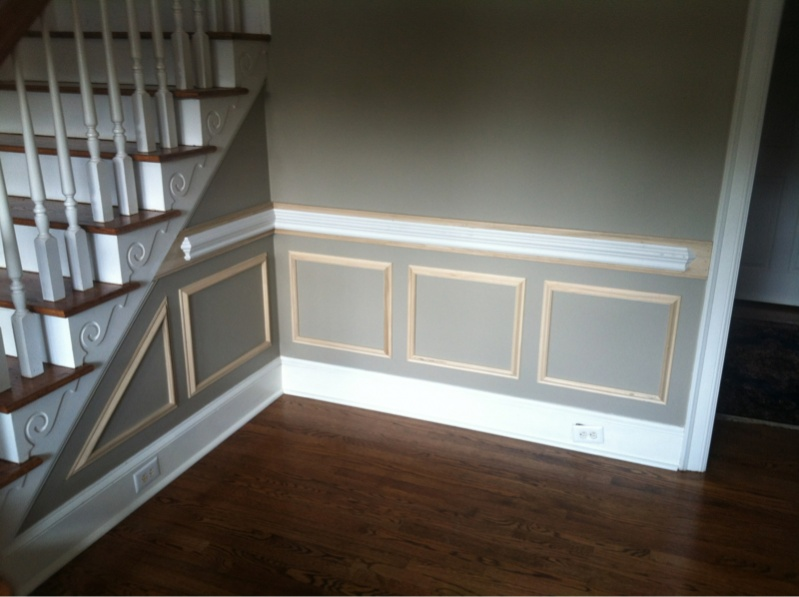 Chair Rail And Picture Frame Boxes. - Carpentry Picture Post ...