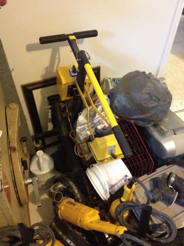 Whats Your Concrete Grinding Setup Flooring