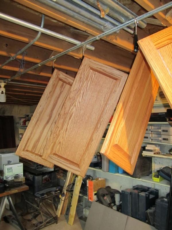 Spraying Cabinet Doors Image 681711104 ...