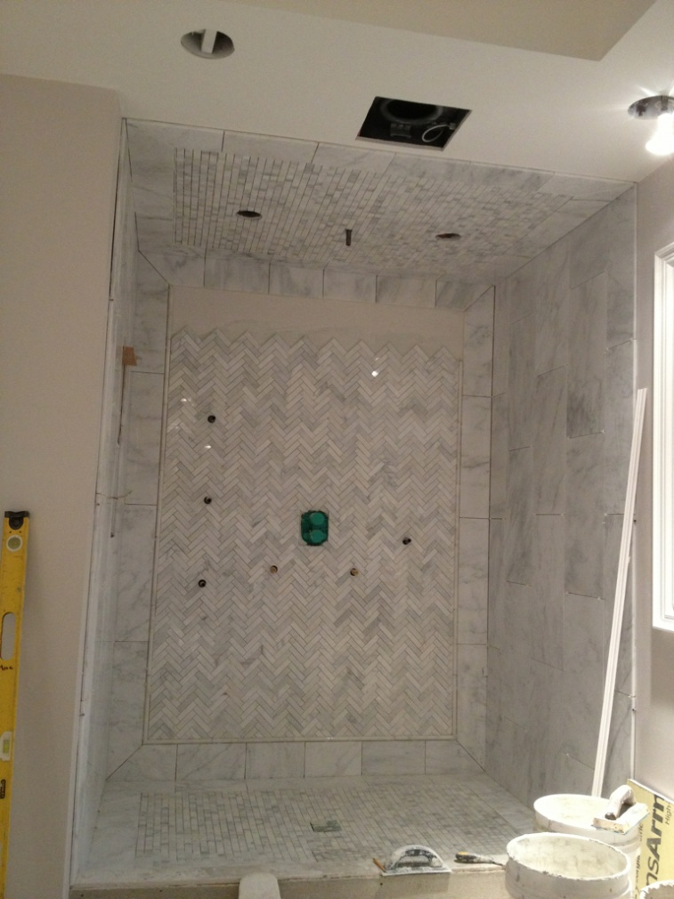 How Much Tile Should One Guy Do In A Day Kitchens Baths Contractor