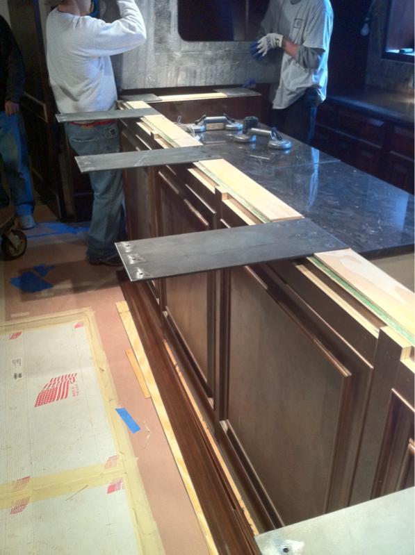 Bar Rail To Granite Finish Carpentry Contractor Talk