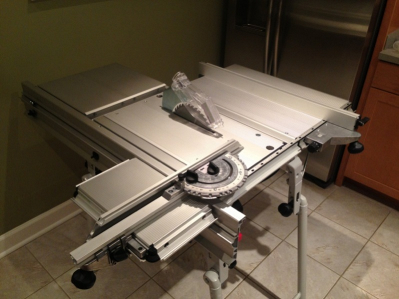 Portable Table Saw Outfeed Table Tools Equipment Contractor Talk