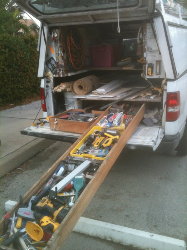 Homemade Truck Bed Slide Tools Equipment Contractor Talk