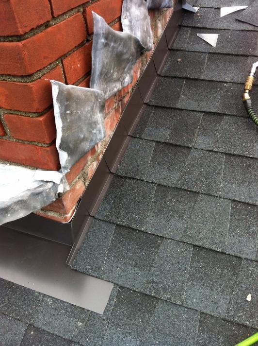 Elegant Chimney To Roof Flashing Help Image