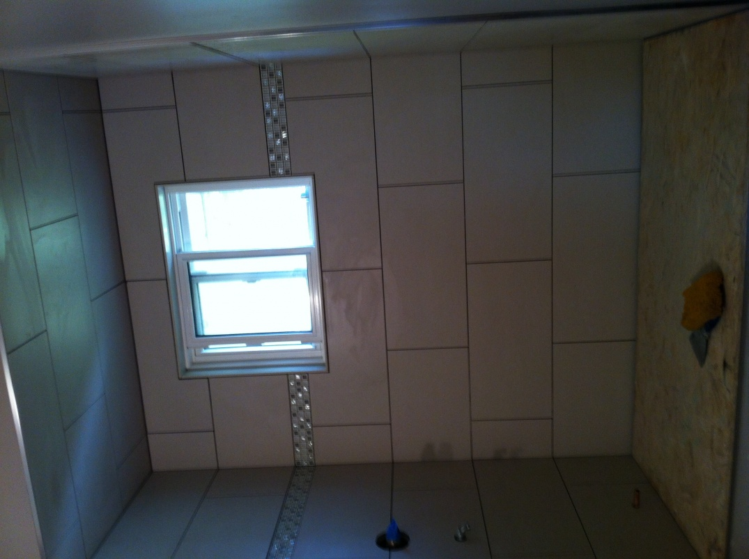 bathroom ceiling tile tiling contractor talk 22036