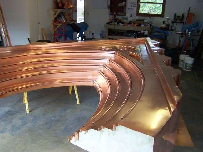 The Best Copper Work I Ve Ever Seen Not My Work
