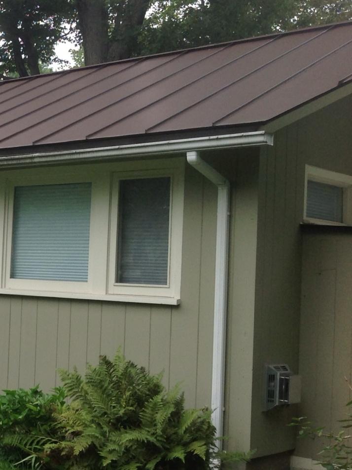 Wring Gutter Around Odd Corner Roofing Contractor Talk