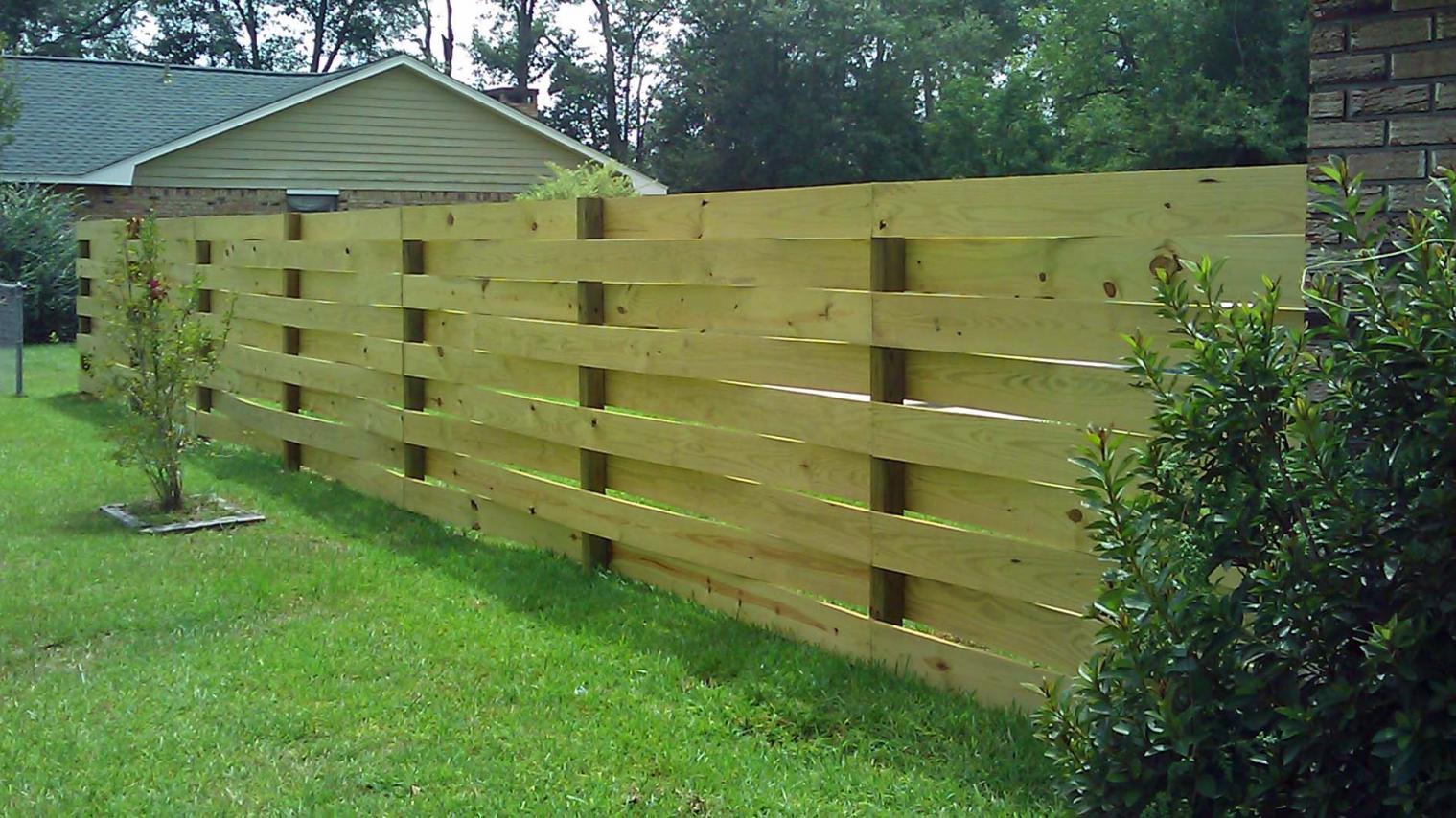 Basket Weave Fence Decks Amp Fencing Contractor Talk