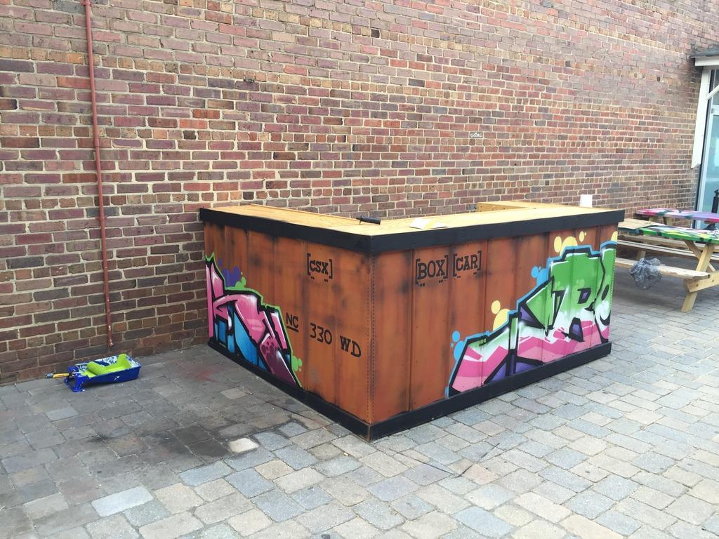 Exterior Bar Top Finish Help