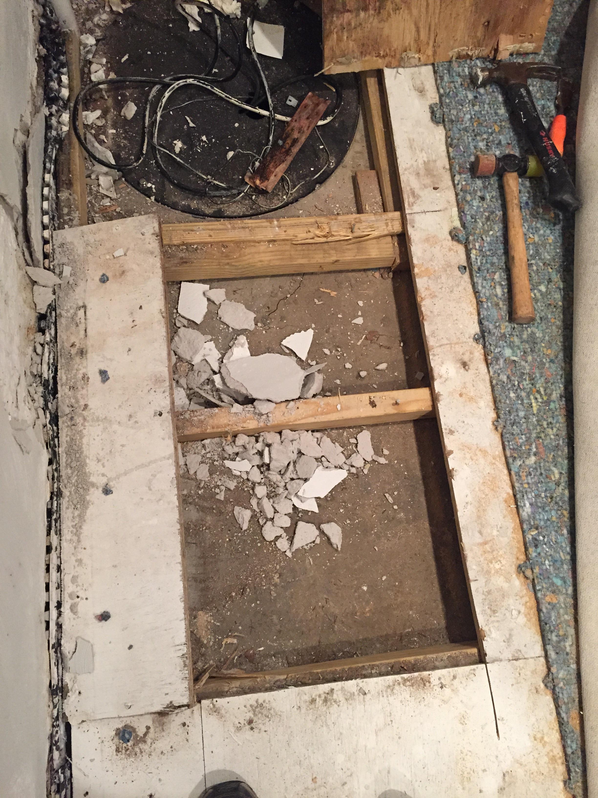 Basement Floor Question