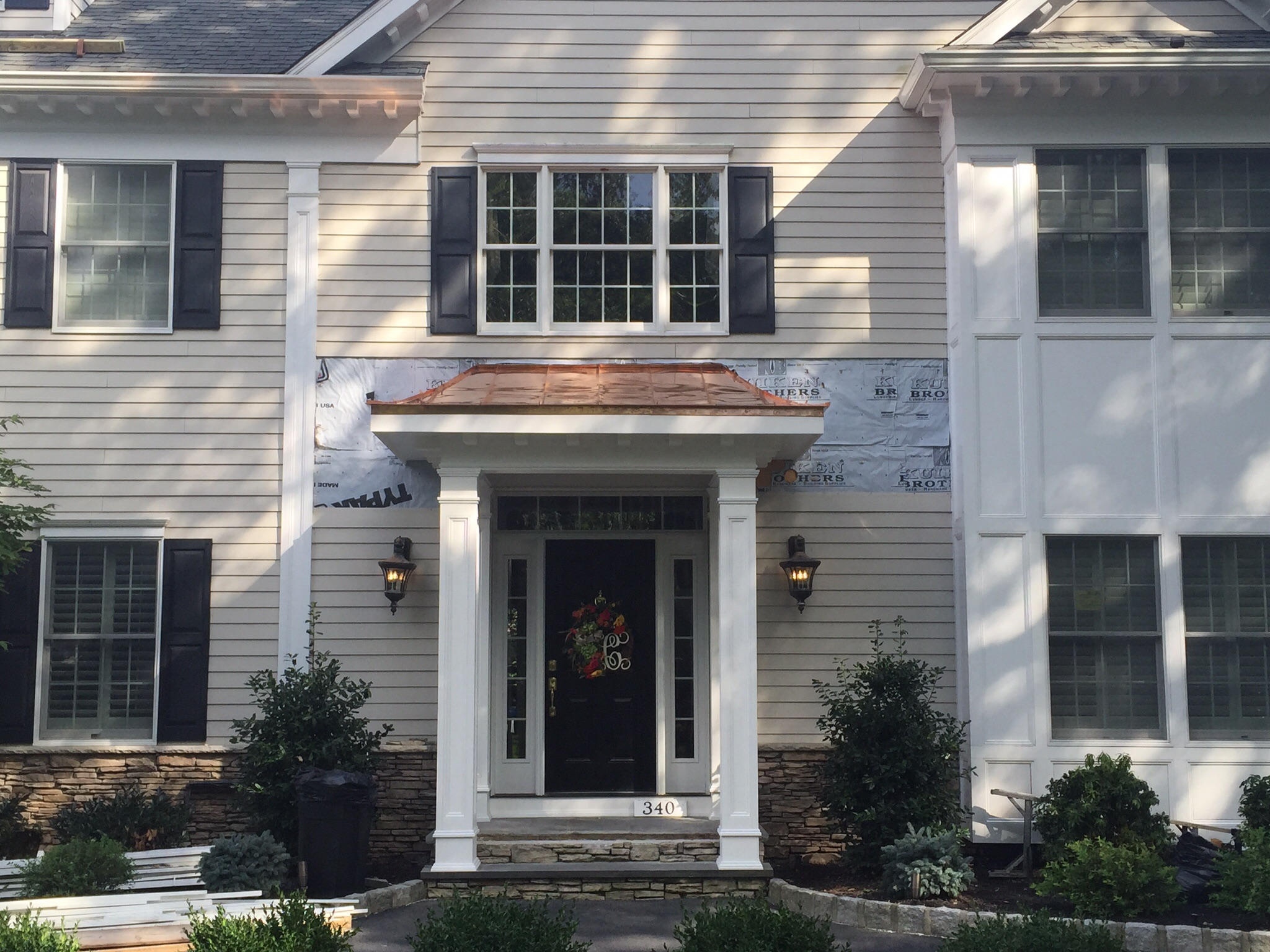 Oil Canning On A Copper Portico Roofing Contractor Talk