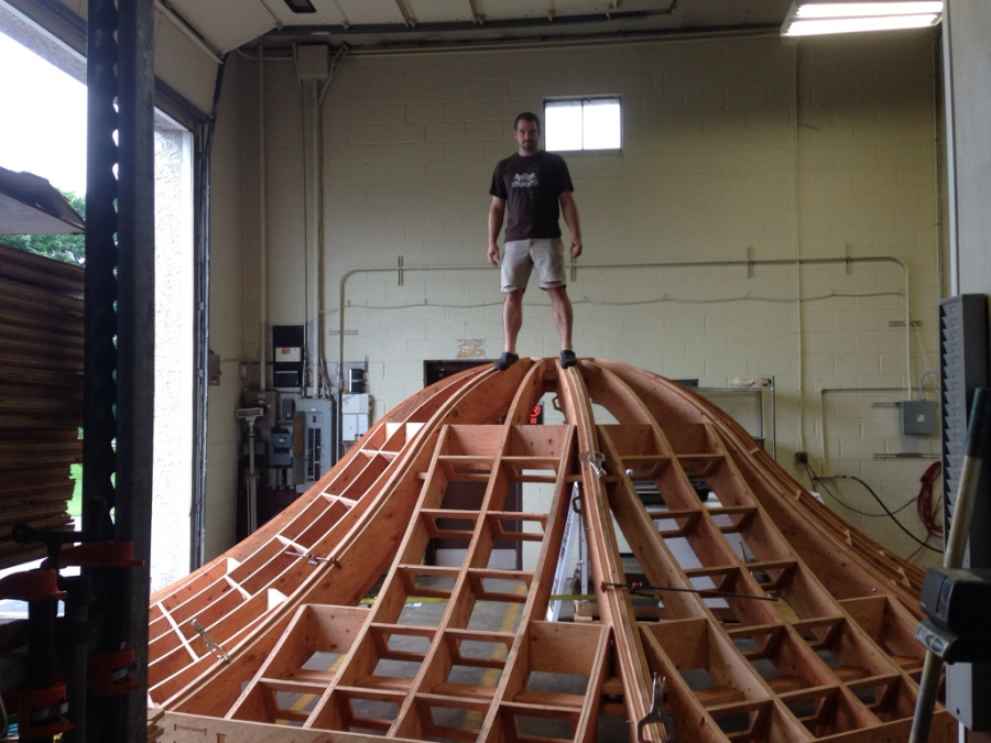 Framing Bell Shaped Roof - Framing - Contractor Talk