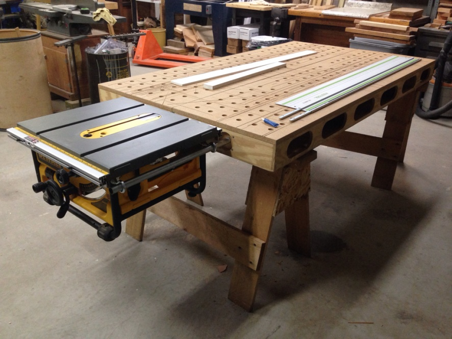 Portable Work Bench - Tools & Equipment - Contractor Talk