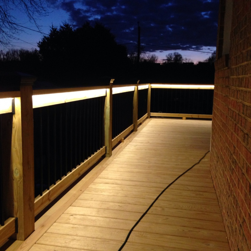 Deck Lighting Done Decks Fencing