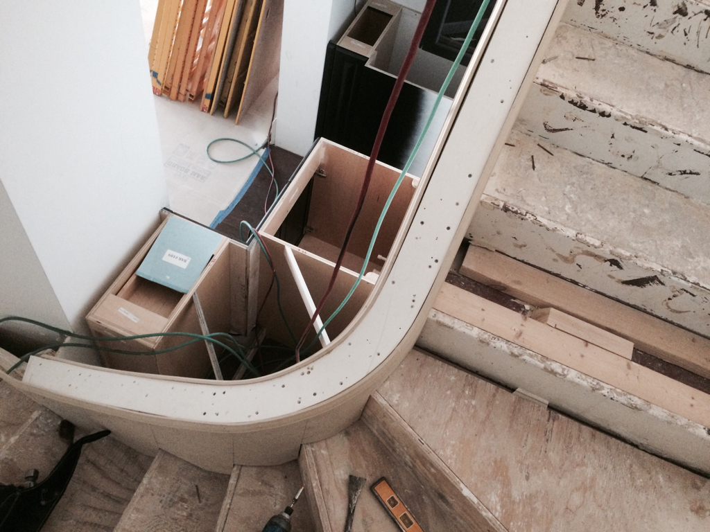 ... Skirt Board On Curved Stairs Imageuploadedbycontractortalk1436223021.122500  ...
