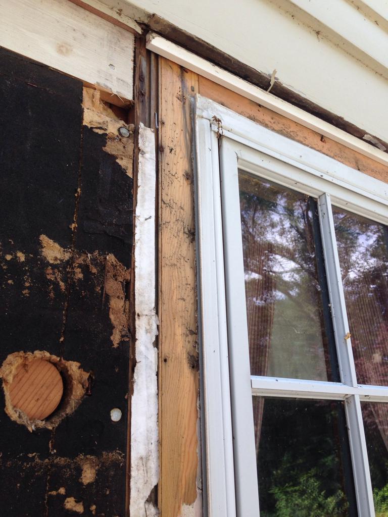 Window Flange Question Windows Siding And Doors