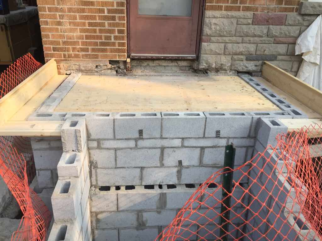 Exceptional Re: Block Base For Concrete Stairs