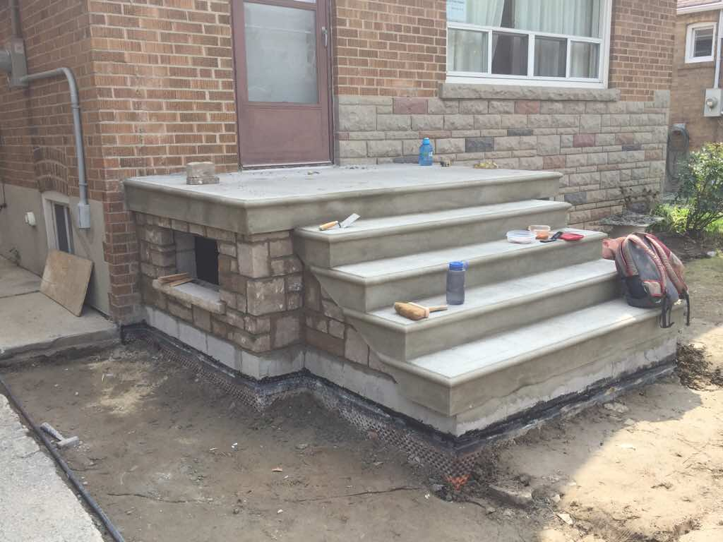 Beautiful Re: Block Base For Concrete Stairs