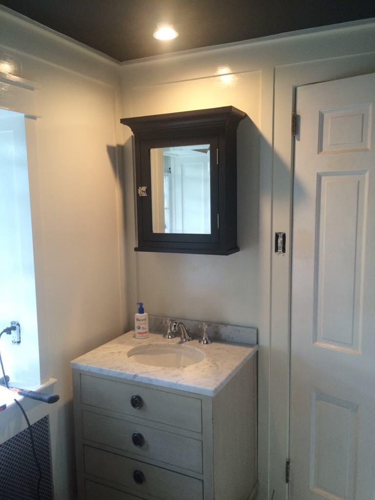 Beadboard over tile in bathroom - Imageuploadedbycontractortalk1468846330 785915 Jpg Bead Board Panel Over Tile Wainscot Imageuploadedbycontractortalk1468846422 046556 Jpg