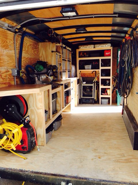 1000 images about work trailer ideas on pinterest for Rv workshop