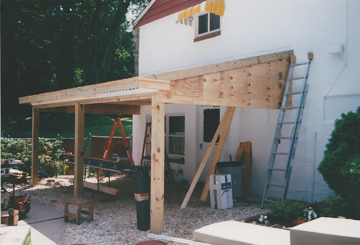 What Would You Call A Roof Over A Patio? - Architecture ... on Roof For Patio Ideas id=46840