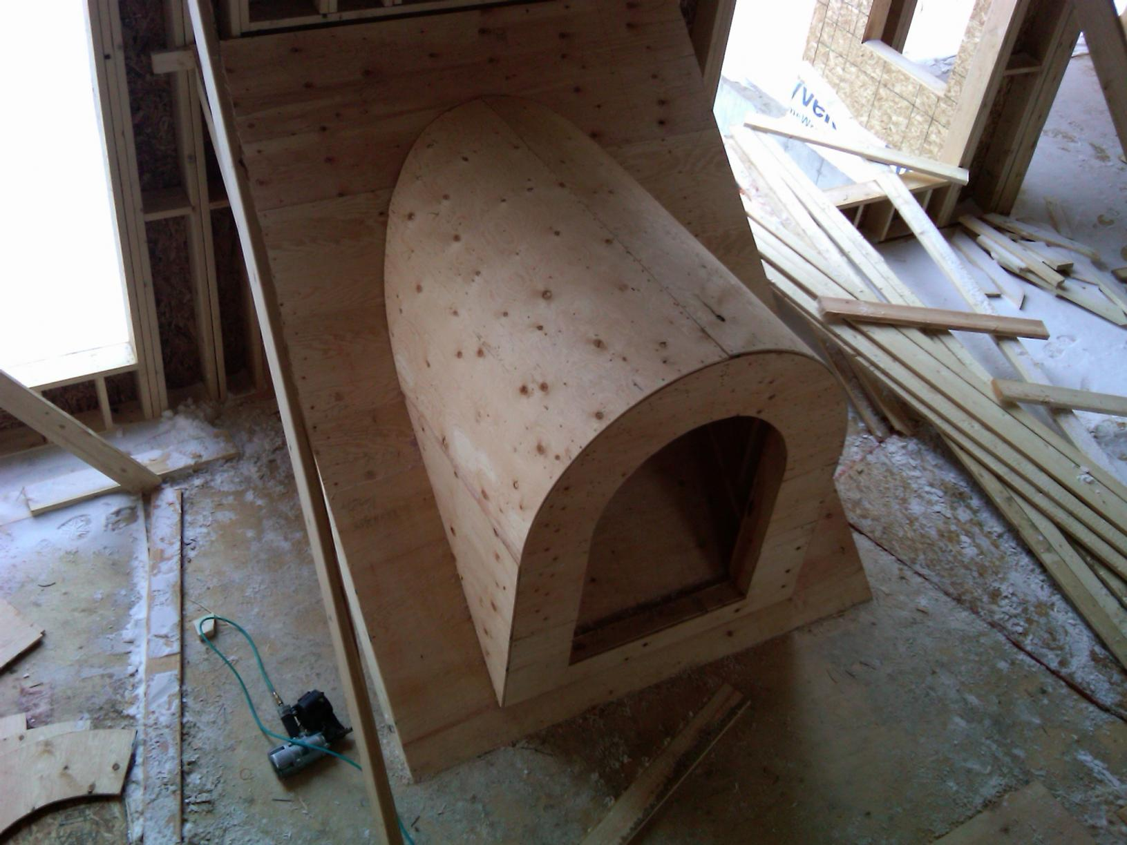 Barrel Dormers And A Bit Of Complicated Roof Framing