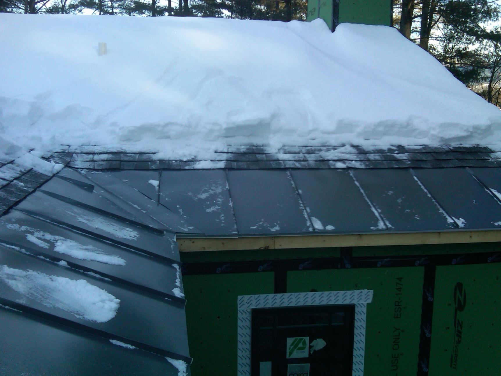 Snow Slides Roofing Contractor Talk
