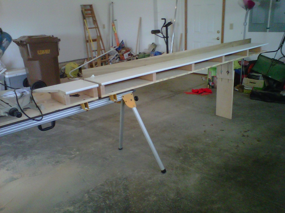 My Started Custom Modified Miter Saw Stand Tools Equipment Dewalt Table