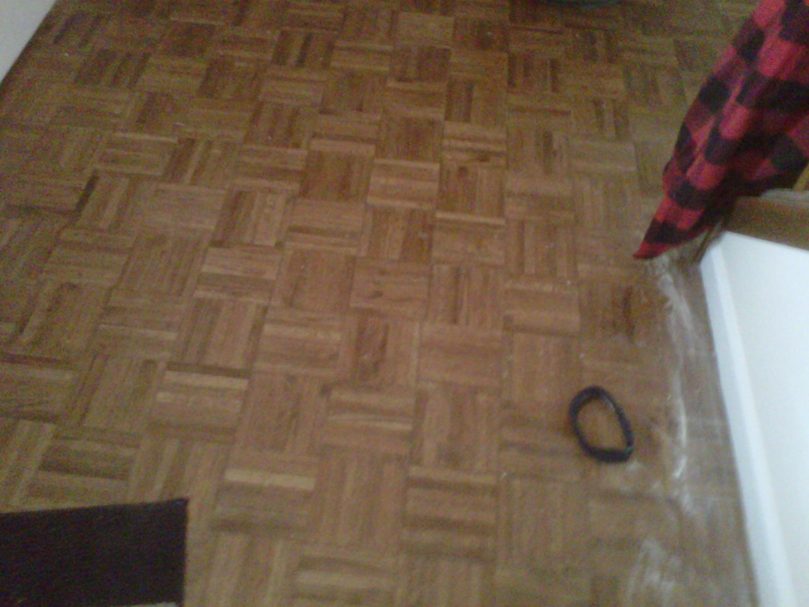 New Life Into A Parquet Floor - Flooring - Contractor Talk