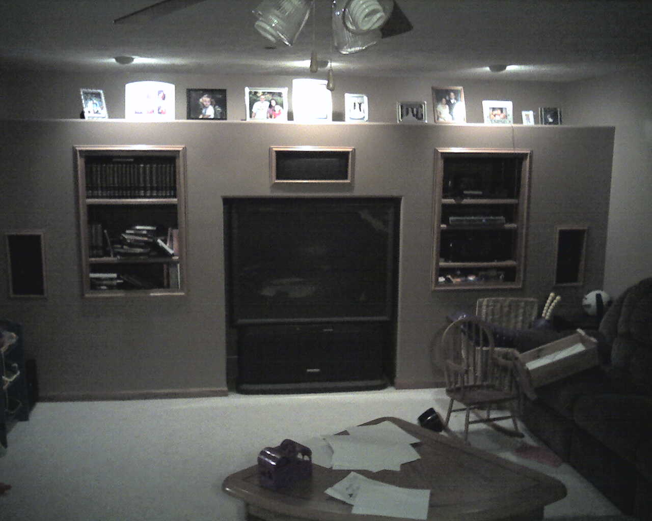 Man Cave Entertainment Center Ideas : Who hates entertainment centers drywall contractor talk