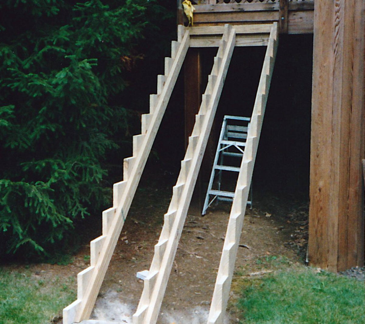 stair stringer load calcs decks fencing contractor talk