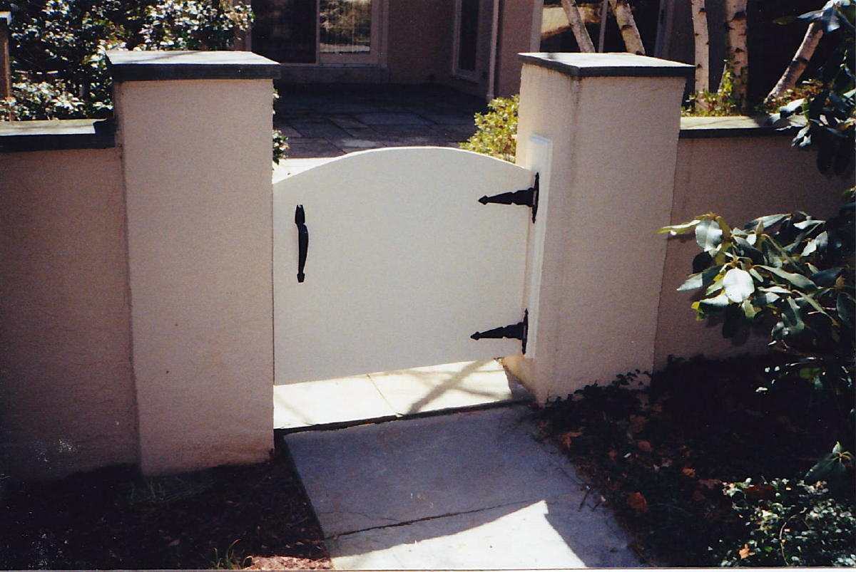Gate Vs Stucco House Decks Amp Fencing Contractor Talk