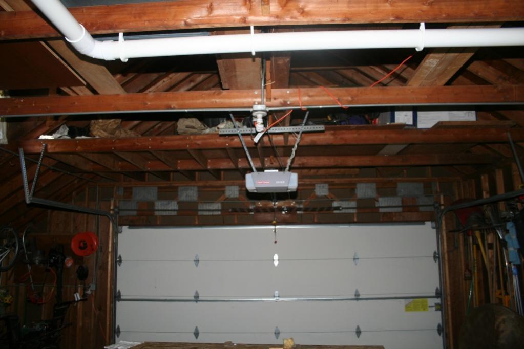Garage Rafters Upgrade