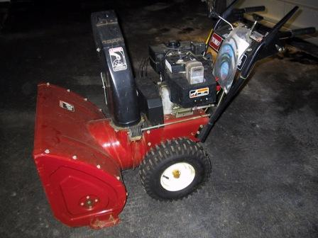 VT Toro CCR 3650 GTS Gas Single Stage Electric Start Snowthrower