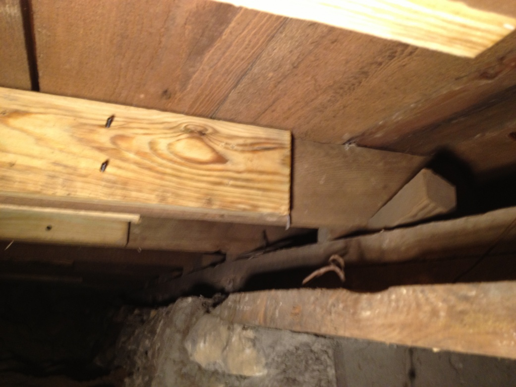 Sistered Joists Not Beam To Beam Framing Contractor Talk