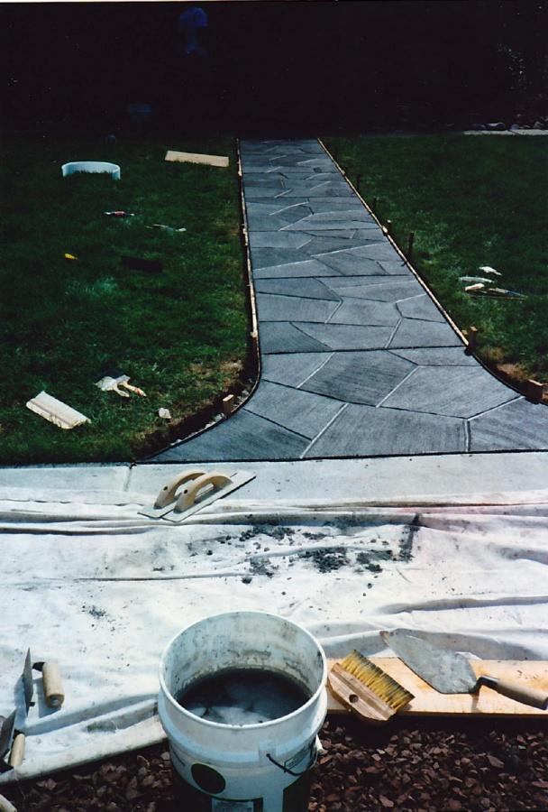 Concrete colorant staining advice help concrete for Concrete advice