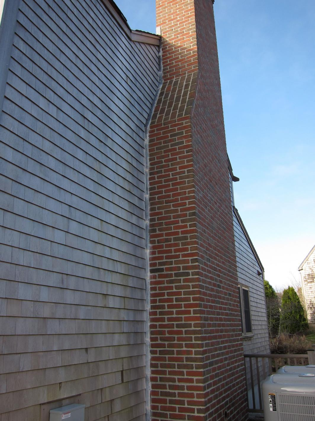 Vertical Chimney Flashing Masonry Contractor Talk