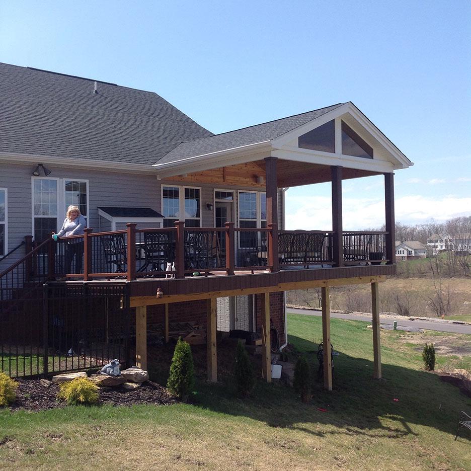 Advice On Deck Roof Design Decks Amp Fencing Contractor