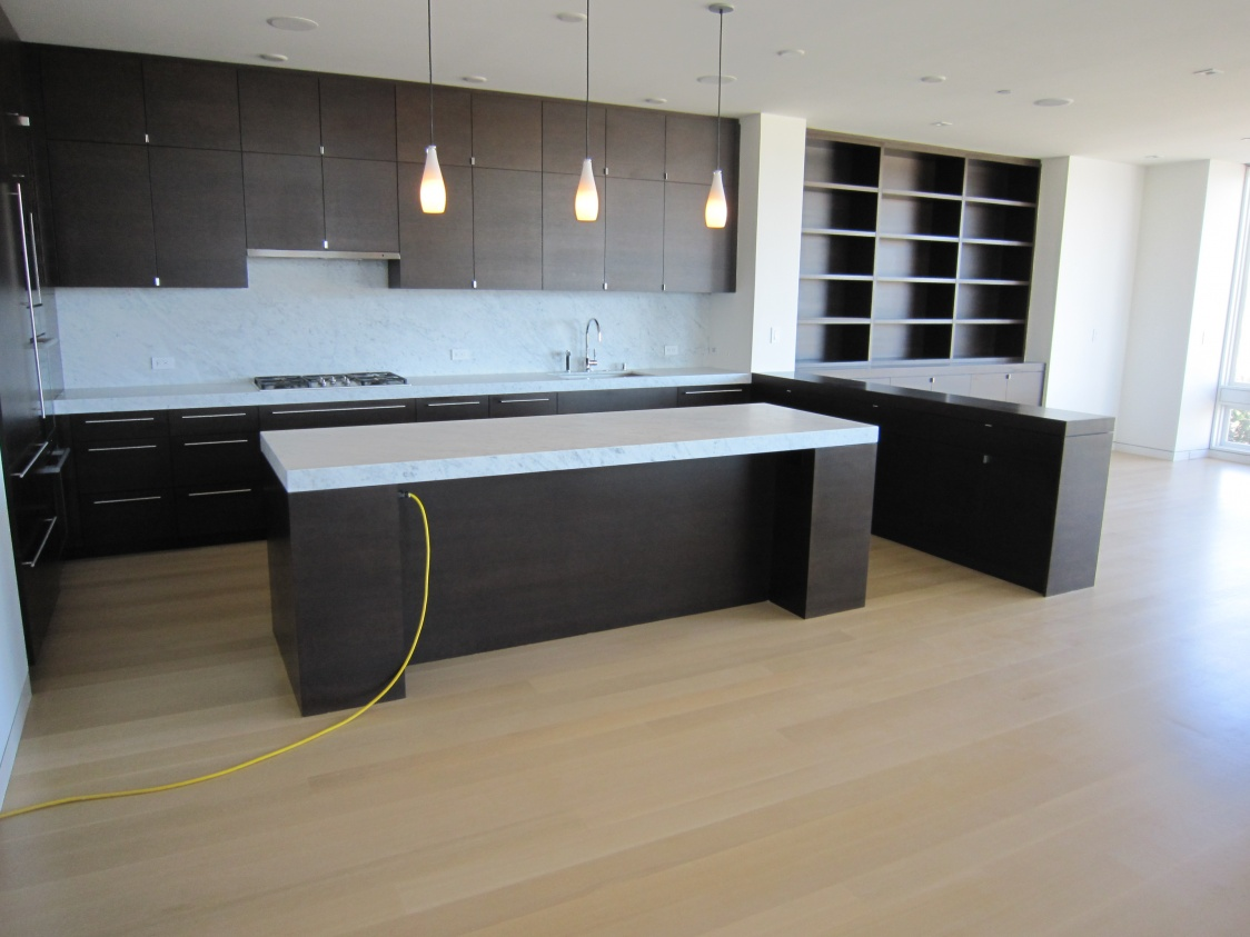 Fitting frameless cabinets to walls page 2 finish for Frameless cabinet manufacturers